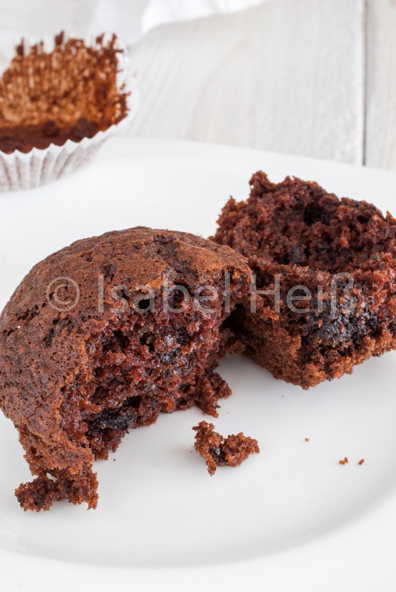 Veganen Schokoladen Muffins Mit Gemuse 1000leckerbissen