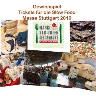 Kommt auf die Slow Food Messe Stuttgart 2016