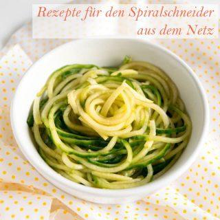 Spiralschneider Rezepte aus dem Netz