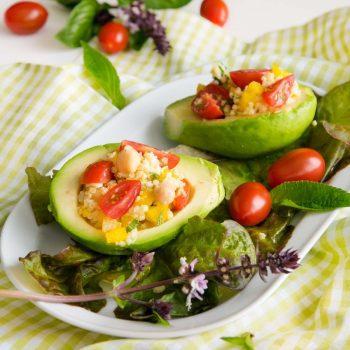 Gefüllte Avocados: leckere Vorspeise