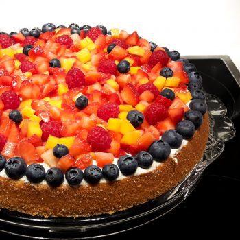 Obstkuchen Belag