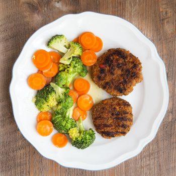 Fleisch- Gemüse- Frikadellen (auch Glutenfrei)
