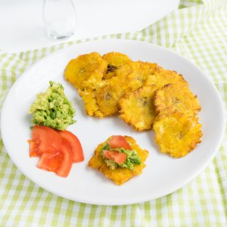 Rezept für Kochbananen- Chips (Tostones)